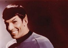 But Mr. Spock, you with a smile on your face is illogical.