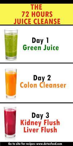 The New Year 72 Hours Juice Cleanse Trust me. The New Year 72 Hours Juice Cleanse Trust me. Detox Diet Drinks, Detox Juice Cleanse, Natural Detox Drinks, Detox Juice Recipes, Fat Burning Detox Drinks, Smoothie Detox, Health Cleanse, Detox Juices, Natural Detox Cleanse