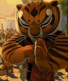 "Tigress: ""We knew you were real. We always knew you would return. (Bows to Zhen Ni ) your highness"" Kung Fu Panda 3, Dreamworks, Disney Pixar, Disney Characters, Po And Tigress, Panda Movies, Art Jokes, My Childhood, Tigger"