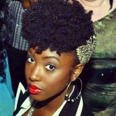 Jennifer // 4B Natural Hair Style Icon   Black Girl with Long Hair