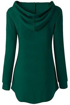 42c073c853937 Samimar Woman Long Sleeve Fashion Hoodies Sweatshirts Kangaroo Pocket  Crewneck at Amazon Women s Clothing store