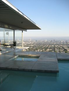 Case Study House #22 - Stahl house, LA. amazing! but you could fall and die :/