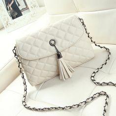 New Style Retro Minimalist Crossbody Bag Fashion Small Women Shoulder Bag Tassel Women Messenger Bag