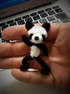 Saturday Night Fever Panda by pipe cleaner
