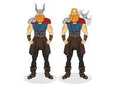 Viking character variations