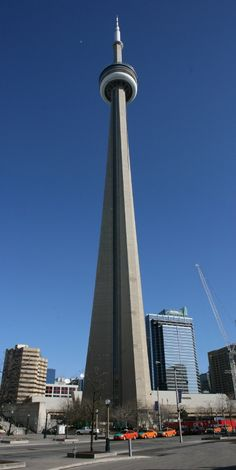 The CN Tower in Toronto, Ontario was completed in 1976 after 40 months of construction. At 553 metres or feet it is the worlds tallest tower and the most dominant building in the Toronto skyl… Visit Toronto, Toronto Ontario Canada, Toronto City, Montreal Canada, Niagara Falls Vacation, Nostalgia, World Cities, Travel Oklahoma, Canadian Rockies