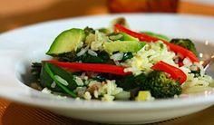 Arroz com brócolis - Receitas - Receitas GNT
