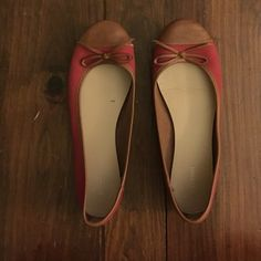 Old Navy Red and Brown Ballet Flats Old navy ballet flats in great shape Old Navy Shoes Flats & Loafers
