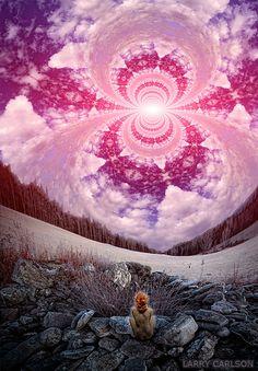 """""""Skryer"""", digital photography, 2012  www.larrycarlson.com"""