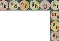 Vintage Alphabet Border 2