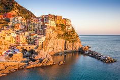 Manarola at sunset, Italy | 5 Great Reasons to Travel to Italy in September