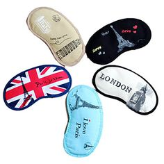 British Style Couples'Ice og Hot Pack Eye Mask (tilfældig farve) – USD $ 14.99