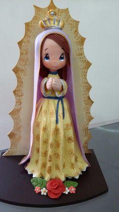 Virgen de pasta flexible