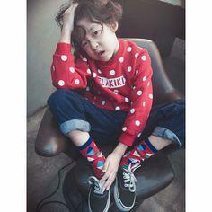 Korean kid model Lee Harang