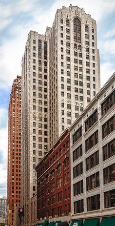 Buhl Building, Detroit, 1925