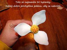 Magnólia.. 9 Magnolia, Sugar Flowers, Flower Tutorial, Clay, Food, Templates, Flowers, Manualidades, Clays