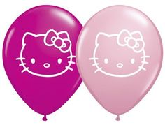 """Single Source Party Suppies - 5"""" Hello Kitty Face Assortment Latex Balloons - Bag of 10 by Single Source Party Supplies, http://www.amazon.com/dp/B00BTW9W70/ref=cm_sw_r_pi_dp_u2jFrb18TRBJ4"""