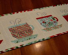 Happy Quilting: Hot, Hot, Hot Chocolate Table Runner