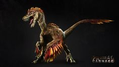 Feathered raptor / HELL YEAH HELL YEAH