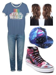 """""""Comeback Kid"""" by tateyandviolet4ever ❤ liked on Polyvore featuring Topshop, Junk Food Clothing and Vans"""
