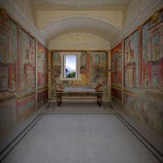 "sophisticatenature: "" archatlas: "" Villa Reconstruction James Stanton-Abbott • Villa at Boscoreale, Pompeii, Italy Computer Reconstruction (This reconstruction of the Villa at Boscoreale was undertaken for THE METROPOLITAN MUSEUM OF ART in New..."
