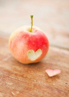 Repinned: apple heart
