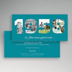 Round Birthdays - Photo Count - 60 years 44171 thumb - all-invitations. Chez Bruno, Birthday Photos, Diy Party, Invitation Cards, Invitation Ideas, Birthday Invitations, Easy Diy, Birthdays, Card Making