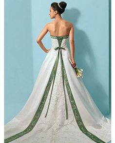 Green Wedding Dresses Archives - The Wedding Specialists