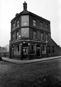 At The Pub With Tony Hall | Spitalfields Life