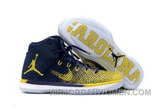 Discover the 2017 Mens Air Jordan 31 Michigan PE For Sale New Style collection at Pumacreeper. Shop 2017 Mens Air Jordan 31 Michigan PE For Sale New Style black, grey, blue and more. Get the tones, get the features, get the look! Jordan Shoes For Sale, Jordans For Sale, Cheap Jordans, Michael Jordan Shoes, Air Jordan Shoes, Retro Jordans, Jordan Sneakers, Air Jordans, New Jordans Shoes