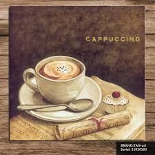Výsledek obrázku pro cappuccino with picture and cupcake painting