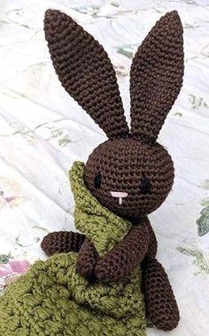 Nussekluden med Harepus – By C. Easter Crochet, Crochet Bunny, Crochet Animals, Crochet Toys, Knit Crochet, Baby Patterns, Sewing Patterns, Crochet Patterns, Newborn Crochet