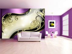 Fialové myšlenky Glam Room, Montage, Room Decor, Ornaments, Products, Pictures, Vivid Colors, Beautiful Patterns, Printmaking