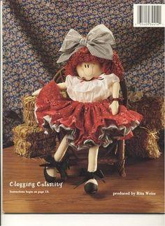 Mimin Dolls: revista completa- dolls dançarinas - TUTORIAL