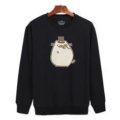 Lazy Cat Cartoon Design Hoodies Men Hip Hop Funny  Soft Cotton Capless  New Brand Sweatshirt Men Hoodies Clothes Plus Size 4XL