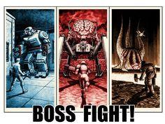 Vintage old video game poster Doom Quake Wolfenstein for sale now on kickstarter!