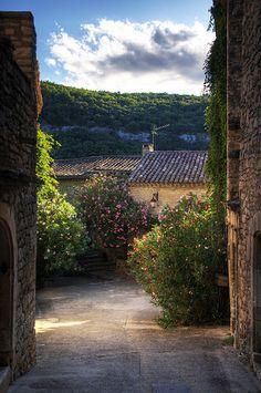 Montclus, Languedoc-Roussillon