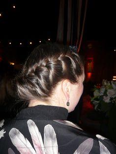 My braid variation at the Greystone Gala.
