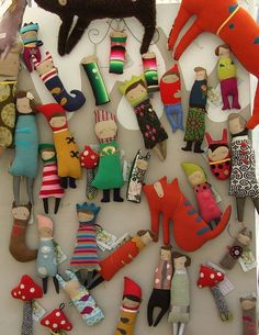 handmade dolls and toys