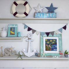 acoさんの、beach,フラミンゴ,sea,ヘザーブラウン,マリンスタイル,パイナップル,イカリ,壁/天井,のお部屋写真