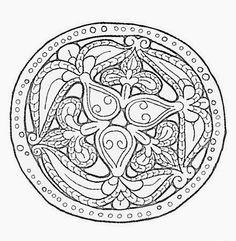 Tarsolylemez minták - Gaston Gaal - Picasa Webalbumok Leather Carving, Leather Tooling, Folk Embroidery, Line Drawing, Folk Art, Symbols, Album, Archive, Drawings