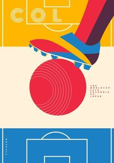 Typozon represents Colombia in the 326490.com creative world cup challenge Colombia 4-1 Japan