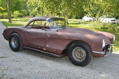 Partially Restored: 1957 Chevrolet Corvette - http://barnfinds.com/partially-restored-1957-chevrolet-corvette/
