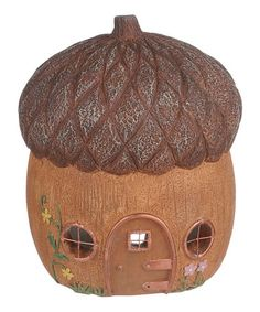 Loving this Acorn Fairy House on #zulily! #zulilyfinds