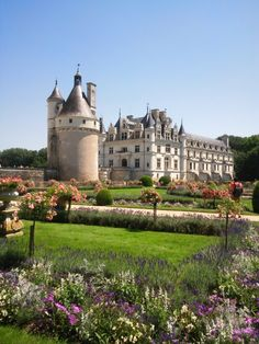 Chateau Chenonceau, Loire Valley, France by Hiroshi Nakanishi
