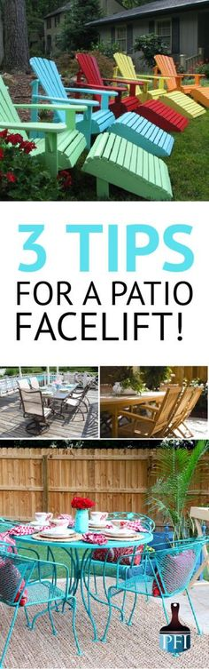 If you're looking at repainting your patio furniture, here's a few things you need to know before you start your project. Make it beautiful & make it last!