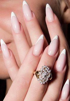 French Stiletto Nails