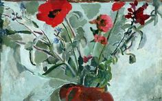 Flower Painting, Duncan Grant (1885–1978), Atkinson Art Gallery Collection