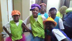 My dance team