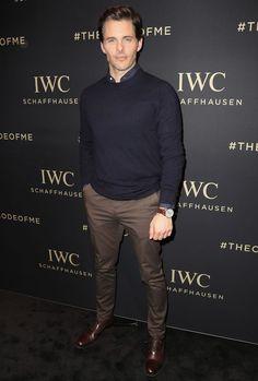 The Best Dressed Men Of The Week: James Marsden at the Decoding The Beauty Of Time Gala Dinner, Geneva. #bestdressedmen #jamesmarsden